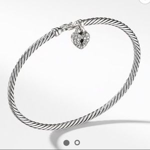David Yurman Cable Collectibles Heart Bracelet
